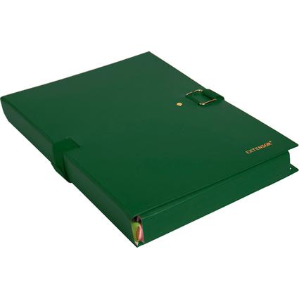EXACOMPTA Dokumentenmappe EXTENSOR, DIN A4, grün