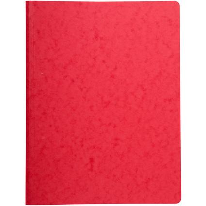 EXACOMPTA Schnellhefter mit Druck-Heftmechanik, DIN A4, rot