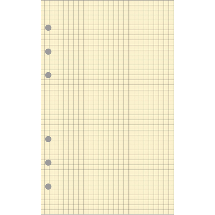 EXACOMPTA Ersatzpapiereinlage 40 Blatt für Exatime 21