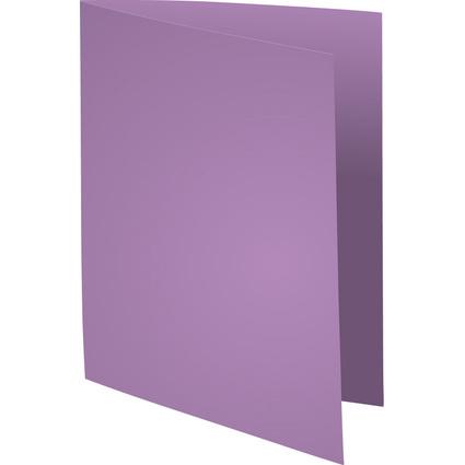 EXACOMPTA Aktendeckel SUPER 250, DIN A4, violett