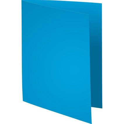 EXACOMPTA Aktendeckel SUPER 250, DIN A4, dunkelblau