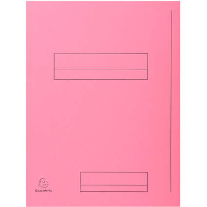 EXACOMPTA Aktendeckel SUPER 250, DIN A4, rosa