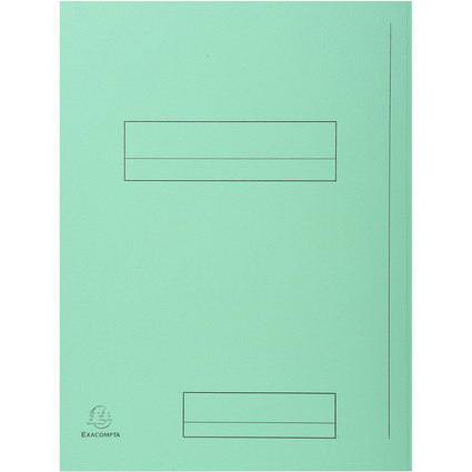 EXACOMPTA Aktendeckel SUPER 250, DIN A4, grün