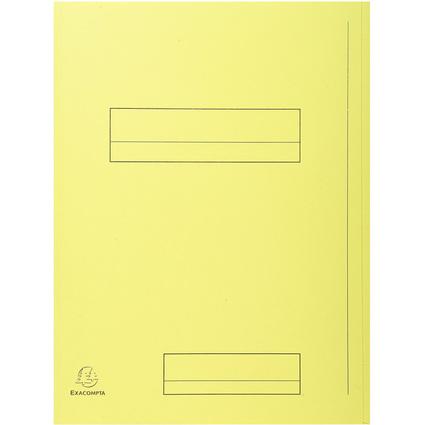 EXACOMPTA Aktendeckel SUPER 250, DIN A4, gelb