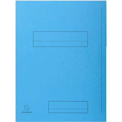EXACOMPTA Aktendeckel SUPER 250, DIN A4, hellblau