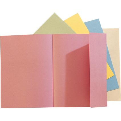 EXACOMPTA Aktenmappe SUPER 180, DIN A4, farbig sortiert