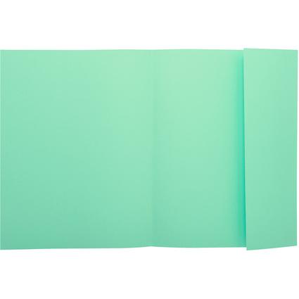 EXACOMPTA Aktenmappe SUPER 180, DIN A4, grün