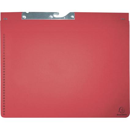 EXACOMPTA Pendelhefter, 1 Abheftvorrichtung, rot