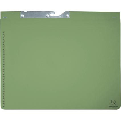 EXACOMPTA Pendelhefter, 1 Abheftvorrichtung, grün