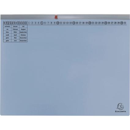 EXACOMPTA Hängehefter Exaflex Premium, 1x rechts, hellblau