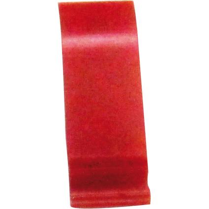 EXACOMPTA Schiebesignal für Hängehefter Premium, rot