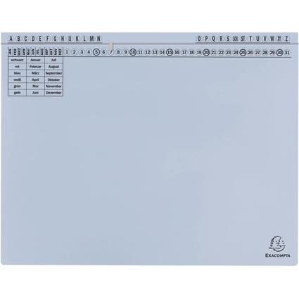 EXACOMPTA Hängehefter Exaflex Standard, hellblau