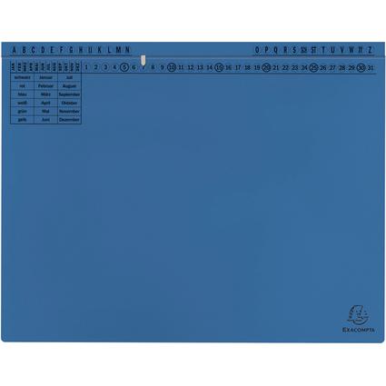 EXACOMPTA Hängehefter Exaflex Standard, blau