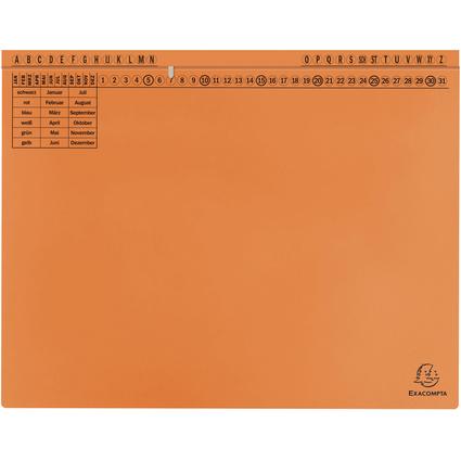 EXACOMPTA Hängehefter Exaflex Standard, orange
