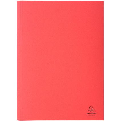 EXACOMPTA Aktendeckel Forever, DIN A4, Karton, rot