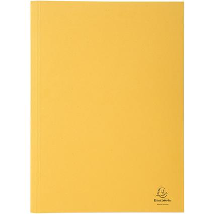 EXACOMPTA Aktendeckel Forever, DIN A4, Karton, gelb