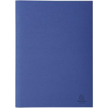 EXACOMPTA Aktendeckel Forever, DIN A4, Karton, dunkelblau