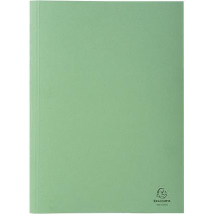 EXACOMPTA Aktendeckel Forever, DIN A4, Karton, grün