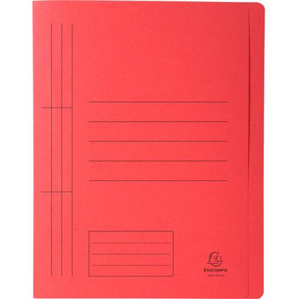 EXACOMPTA Schnellhefter Forever, DIN A4, Karton, rot