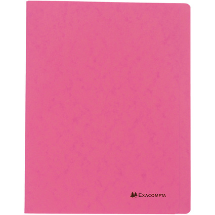EXACOMPTA Schnellhefter, DIN A4, Karton, rosa