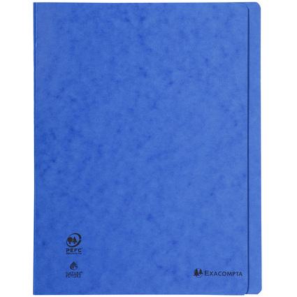 EXACOMPTA Schnellhefter, DIN A4, Karton, blau