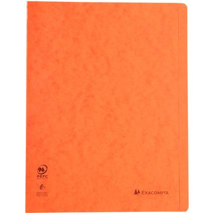 EXACOMPTA Schnellhefter, DIN A4, Karton, orange