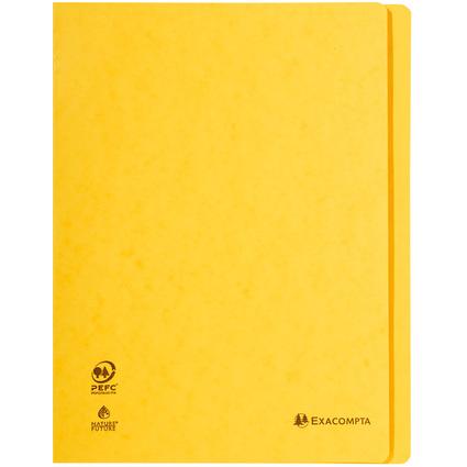 EXACOMPTA Schnellhefter, DIN A4, Karton, gelb