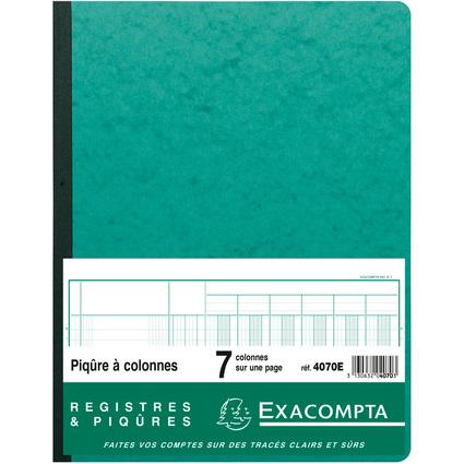EXACOMPTA Piqûre à colonnes, 7 colonnes, 33 lignes