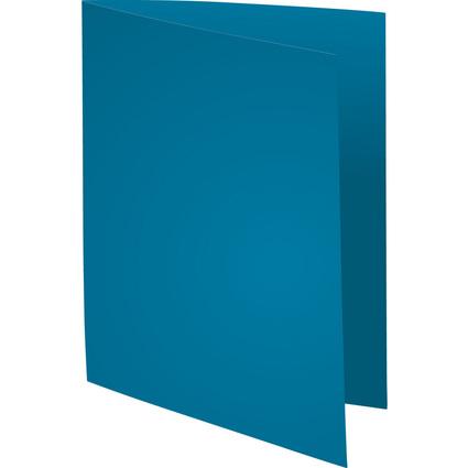 EXACOMPTA Aktendeckel FOREVER 250, DIN A4, dunkelblau