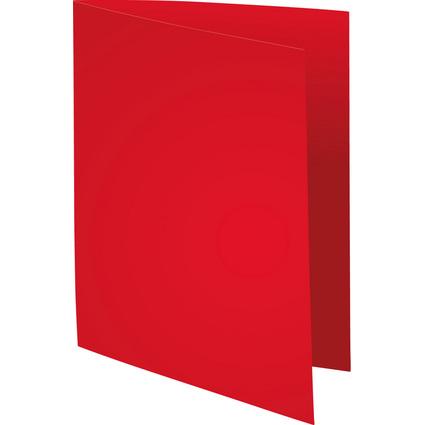 EXACOMPTA Aktendeckel FOREVER 250, DIN A4, rot