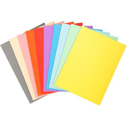 EXACOMPTA Aktendeckel FOREVER 180, DIN A4, farbig sortiert