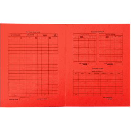 EXACOMPTA Dossiers de procédure, rouge