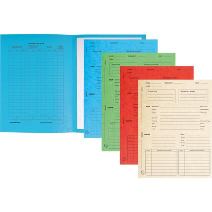 EXACOMPTA Dossiers de procédure, couleurs assorties