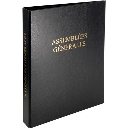 """EXACOMPTA Reliure """"Assemblées générales"""", classeur 4 anneaux"""
