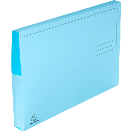 EXACOMPTA Dokumententasche Jura pastell, DIN A4, blau