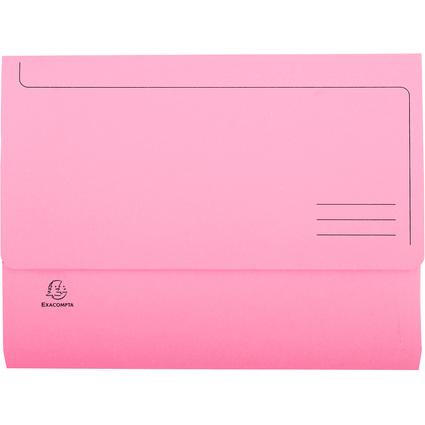 EXACOMPTA Dokumententasche Jura pastell, DIN A4, rosa