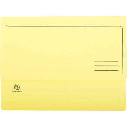 EXACOMPTA Dokumententasche Jura pastell, DIN A4, gelb