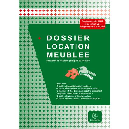 "EXACOMPTA Dossier location ""Location meublée"""