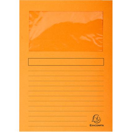 EXACOMPTA Sichtmappe FOREVER, DIN A4, 120 g/qm, orange