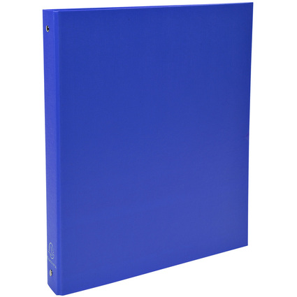 EXACOMPTA Ringbuch, 4-Ring-Mechanik, DIN A4, blau