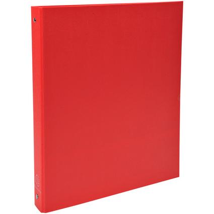 EXACOMPTA Ringbuch, 4 Ring-Mechanik, DIN A4, rot
