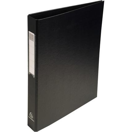 EXACOMPTA Ringbuch PP, 4-Ring-Mechanik, DIN A4, schwarz