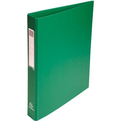 EXACOMPTA Ringbuch PP, 4-Ring-Mechanik, DIN A4, grün