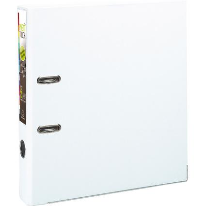 EXACOMPTA PP-Ordner Premium, DIN A4, 50 mm, weiß