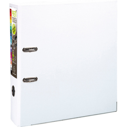 EXACOMPTA PP-Ordner Premium, DIN A4, 80 mm, weiß