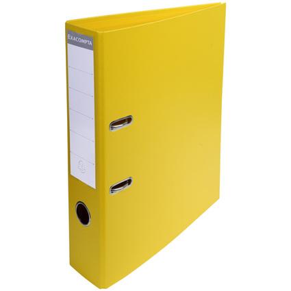 EXACOMPTA PVC-Ordner Premium, DIN A4, 70 mm, gelb