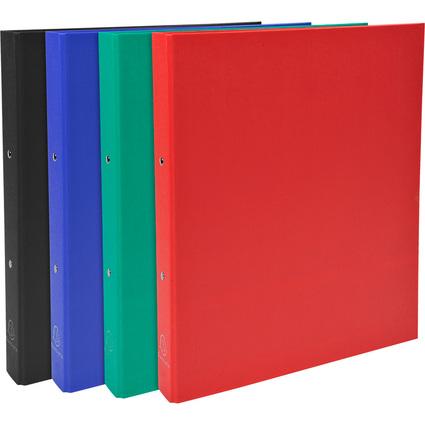 EXACOMPTA Ringbuch, 2-Ring-Mechanik, DIN A4, farbig sortiert