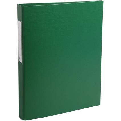 EXACOMPTA Ringbuch PP, 2-Ring-Mechanik, DIN A4, grün