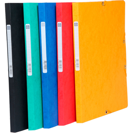 EXACOMPTA Sammelmappe, aus Karton, 425 g/qm, farbig sortiert