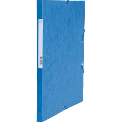 EXACOMPTA Sammelmappe, aus Karton, 425 g/qm, blau